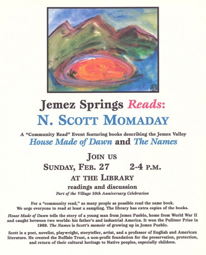 Momaday Community Read