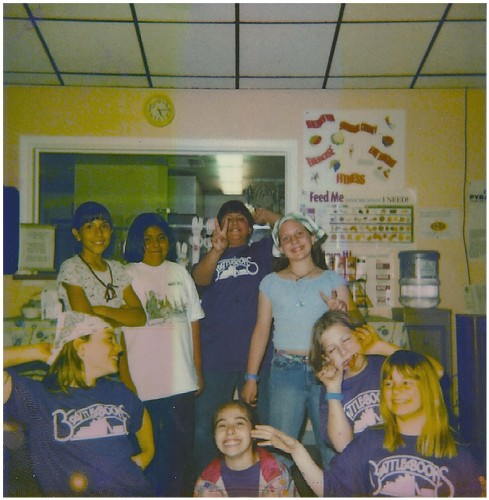 Participants of Battle of the Books in 2003
