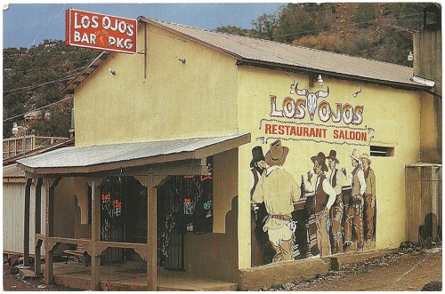 Los Ojos Restaurant & Saloon Jemez Springs - Established 1947; American and New Mexican Cuisine; Dining room and patio family dining. Jemez Scenic Views by Sarnol