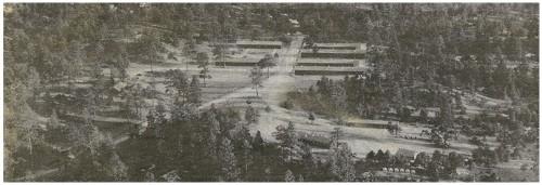 Civilian Conservation Corps(CCC) Camp near Ponderosa.