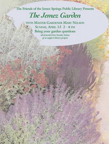Gardening poster 2009