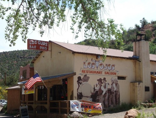 Los Ojos Bar and Grill in 2010. Photo by Judith Isaacs