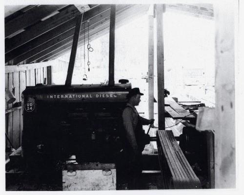 sawmill insides