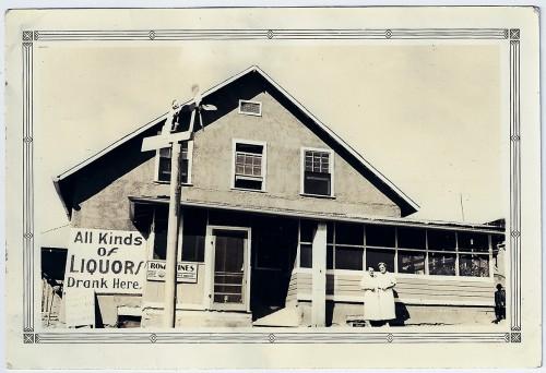 J.D. Johnston's Emporium, Jemez Springs, New Mexico. July 28th, 1938.