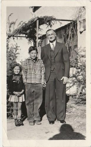 George Miller, Bill, Martha, 1939